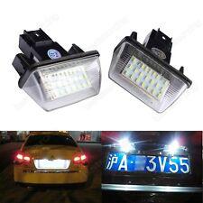 LED Kennzeichen Beleuchtung Nummernschild Für Peugeot 206 207 306 307 406 407