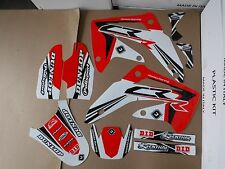 FLU PTS3 TEAM GRAPHICS  HONDA CR85R   CR85
