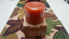 Longaberger Pint Size Pillar Candle - Pumpkin Pie 71296411