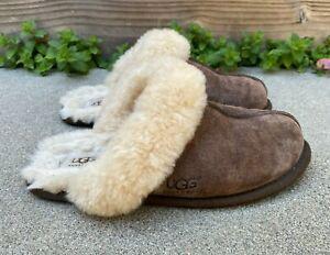 UGG AUSTRALIA Women's Scuffette II Suede Sheepskin Slippers 5661 Shoes | 7