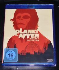 PLANET DER AFFEN LEGACY COLLECTION 5 FILME BLU RAY SCHNELLER VERSAND NEU & OVP
