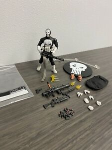 Mezco One 12 The Punisher Special Ops Edition Figure Loose Marvel