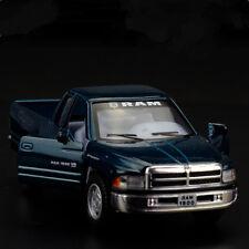 Dodge RAM 1500 Pickup Trucks Model Cars 1:44 Toys Gifts Alloy Diecast Dark Green
