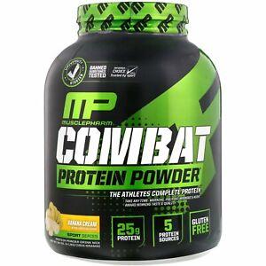 Combat Protein Powder, Banana Cream, 4 lbs (1814 g)