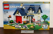 NEW SEALED LEGO 5891 CREATOR APPLE TREE HOUSE HOME 3 IN 1 BUILD LAND MOWER