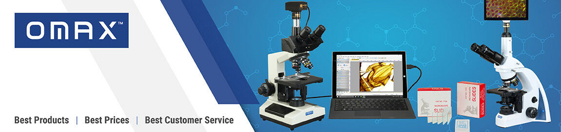 OMAX Microscope and Accessories