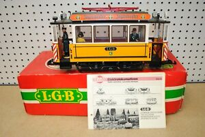 LGB 2035 Powered Street Car/Trolley/Tram *G-Scale*
