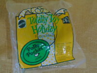 Vintage Mcdonalds Happy Meal Totally Toy Holiday Polly Pocket Compact New 1993