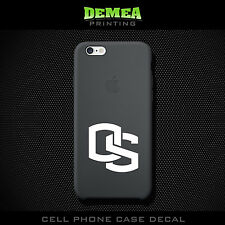 Oregon State - Cell Phone Vinyl Decal Sticker - iPhone - Choose Color (X2)