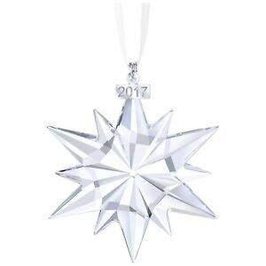 Swarovski Crystal Ornament 2017 Annual Edition Christmas Ornament Star #5257589