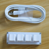 4keys Mechanical Keyboard For Gaming Drawing Switch Custom Macro Programming Key