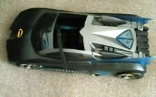 DC THE BATMAN BATMOBILE MATTEL 2004 TESTED AND WORKS FREE SHIPPING!