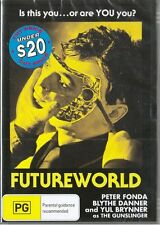 FUTUREWORLD - PETER FONDA & YUL BRYNNER - CLASSIC SCI-FI - NEW & SEALED DVD