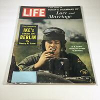 VTG Life Magazine September 8 1961 - U.S. Tanker Ready For Trouble in Germany