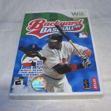 Backyard Baseball '09 (Nintendo Wii, 2008) Brand New Factory Sealed