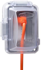 Hubbell Single Gang Verticalhorizontal Mount In Use Outdoor Outlet Cover Mm420c