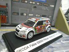 SKODA Fabia S2000 Rallye Ypern Ypres 2011 #25 Kruuda me3 UMBAU Abrex 1:43