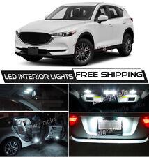 13x Xenon White Interior LED Lights Package For 13-2018 Mazda CX-5 CX5 +TOOL O5
