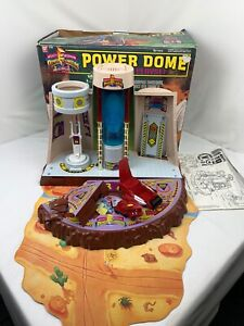 Bandai Mighty Morphin Power Rangers Power Dome Not Complete Damaged