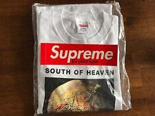 Supreme - Slayer South Of Heaven Tee - M - White - FW16