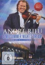 ANDRE RIEU - A MIDSUMMER NIGHT'S DREAM MAASTRICHT 4- DVD - PAL & Region 2 - New