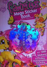 Fairies Fées Mega Stickerbuch avec +/- 1000 adhésive Sticker