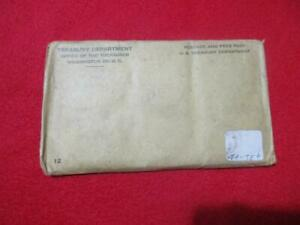 1961 P&D Uncirculated Silver Mint Set In Unopened Envelope of issue.  #MF-T401