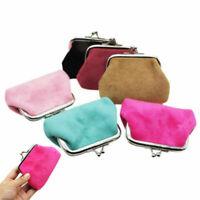 Women Lady Girls Small Coin Card Pouch Clutch Purse Handbag Change Bag Wallet