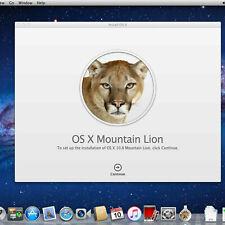 Mac OS X Mountain Lion 10.8 ISO and DMG Image