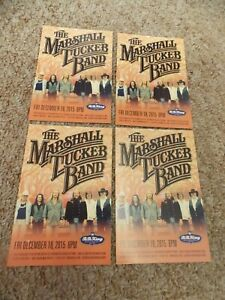 MARSHALL TUCKER BAND LOT OF 4 PROMO POSTCARDS UNUSED NICE!