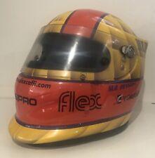 Alex Caffi Formula One Driver Bieffe Aero Concept Used In Race & Worn Helmet