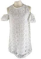 Zara Kleid Sommerkleid 11/12 Weiß 152 Häkelspitze wie Neu Blumenkind Hochzeit