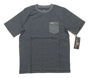 Vineyard Vines Boys Striped Soft Jersey Short Sleeve Pocket T-Shirt