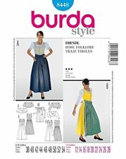 Burda Sewing Pattern 8448 Misses Dirndl Dress Size 12-28