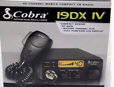 Cobra 19DX IV Mobile 40 Channel Compact CB Radio PRO TUNED AND ALIGNED 19 DX IV