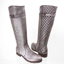 Matisse Coco Women's Shoes Leather Knee High Metallic Boot Size 6 M NEW!