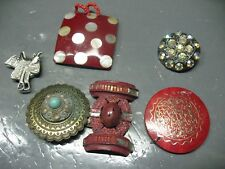 PENDANTS  BROOCH  LOT  VINTAGE   UNIQUE  PIECES
