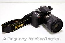 New listing Nikon D3300 Digital Slr Camera With 60Mm F/2.8 Lens | 24.2Mp | Black