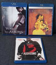 New listing War of the Arrows, Crouching Tiger, Hidden  00004000 Dragon, and 13 Assassins (Blu ray)
