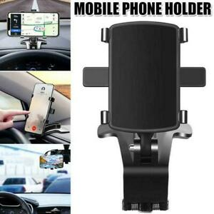 For 3-7 Inch Smartphones Universal Car Dashboard Phone Holder 360° Clip T0D2