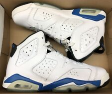 Jordan Retro VI 6 Sport Blue White Black Infrared 384665-107 Sz 6.5y
