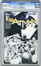 2011 Batman 1 CGC 9.8 Sketch Cover Variant Capullo New 52