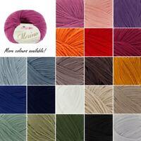 King Cole Luxury Merino DK Double Knitting Yarn Knit Craft Wool Crochet 50g Ball