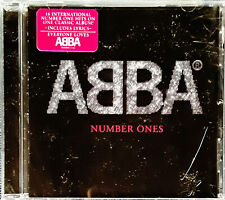 ABBA - NUMBER ONES - POLAR MUSIC - CD WITH HYPE STICKER - STILL SEALED
