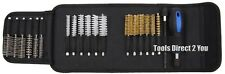 379-BGS Cleaning & Decarbonising Brush Set 20pc for Injector & Glow Plug Ports