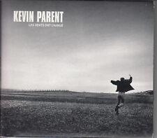 KEVIN PARENT Les Vents Ont Changé (CD 2001) Digipak 15 Songs Quebec Rock