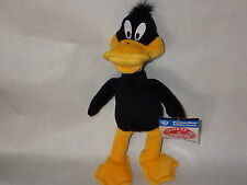 Daffy Duck talks bean bag 9 inch toy Warner Looney Tunes new with tags RARE