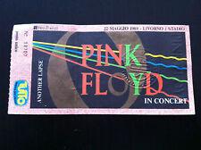 PINK FLOYD Biglietto Ticket concert Livorno Italy 22 Maggio 1989 David Gilmour