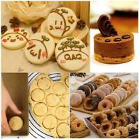 3Pcs Pastry Cookie Biscuit Cutters Model Set Cake Mould Sugarpaste V6K2