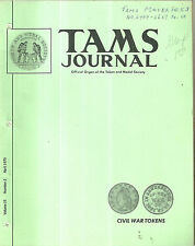 April 1975 TAMS Journal Token and Medal Society Magazine Book